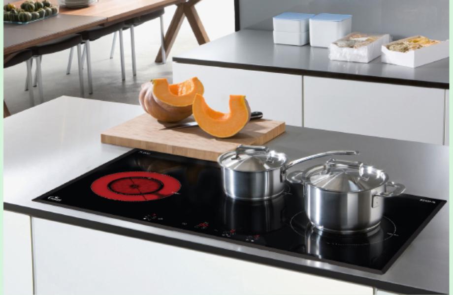 Mua bếp từ 3 vùng nấu cho gia đình 4 – 6 người