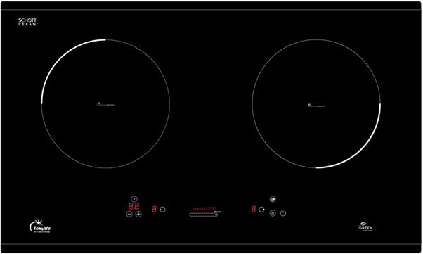 Bếp từ hãng Tomate TOM 02I-7S mặt kính Schott Ceran