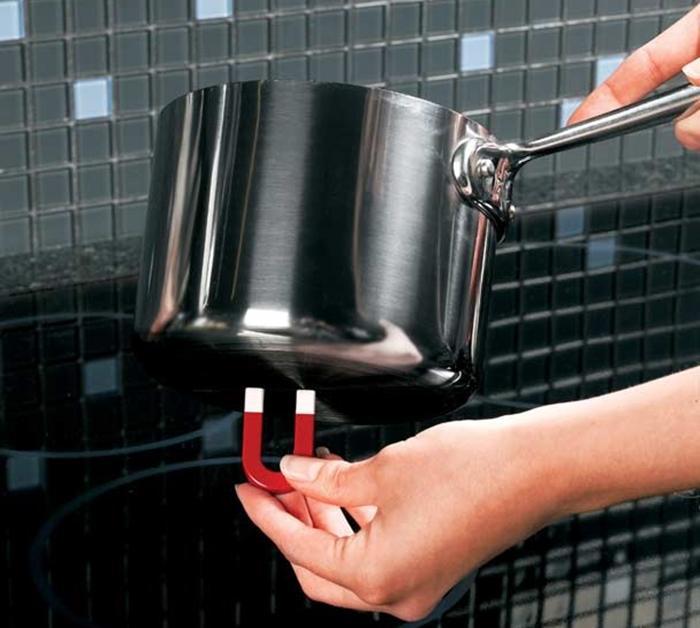 Bạn có thể sử dụng nam châm để kiểm tra nồi có nấu bếp từ được không